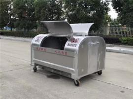 2吨3吨不锈钢垃圾箱 拉臂式垃圾车配套垃圾箱