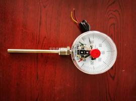 鑫昱WSSX-411电接点双金属温度计 螺纹径向型安装温度计