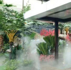 园林水喷雾造雾造景景观设备