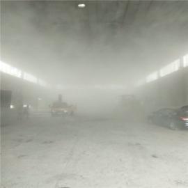 砂石料厂高压水喷雾降尘系统