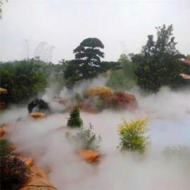 雾森人工湖湿地公园人造雾造景景观设备