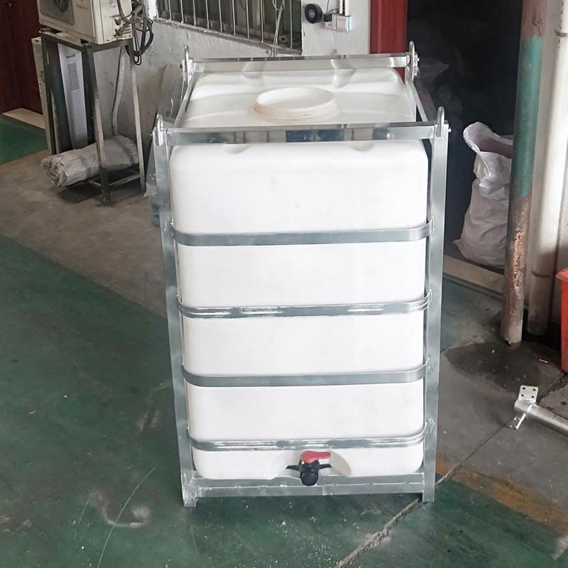 湖 北1.5T耐酸碱化工吨桶包装桶运输堆码桶滚塑一次成型