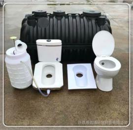 一次成型塑料化粪池三格式化粪池厂农村家用