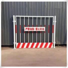 晟护现货基坑防护网 网片基坑护栏网 竖管双板基坑质量可靠吗