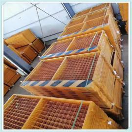 晟护现货基坑防护栏 网片基坑护栏网 竖管双板基坑质量可靠吗