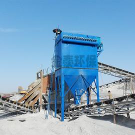 矿山破碎机使用120袋布袋除尘器详细配置