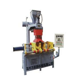 装两幅模具射芯机、双工作射芯机、两幅模具同时工作、液压双模铸