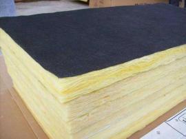 90厚防水玻璃棉板 幕墙RBC防水透气玻璃棉板