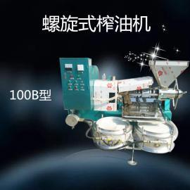 万隆6YL-100型多功能螺旋榨油机榨油设备