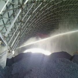 煤场雾森人工雾水喷雾降尘系统
