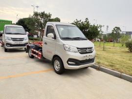 国六小型勾臂式垃圾车 CLW5030ZXXSC6型车厢可卸式垃圾车的报价