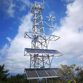 尚能 风光互补供电监控系统- 森林防火