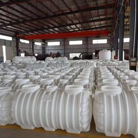 旱厕改造容器2m3化粪池三格式塑料化粪池
