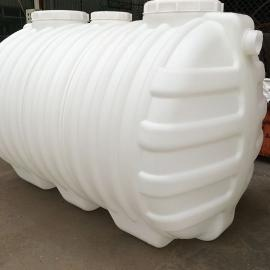 住宅社区吹塑成型2立方化粪池塑料PE化粪池