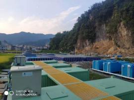 集装箱养鱼-可移动养殖池-循环水养殖系统