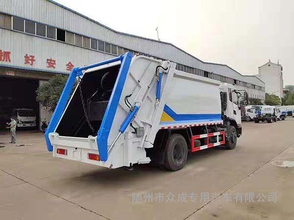 东风小型压缩垃圾车工作原理