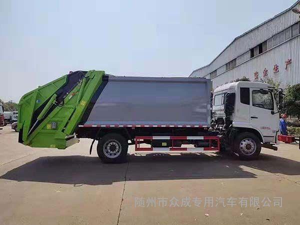国五8方多利卡D7压缩垃圾车注意事项
