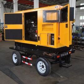 油田管道焊接500A柴油电焊机 拖车型柴油发电电焊一体机