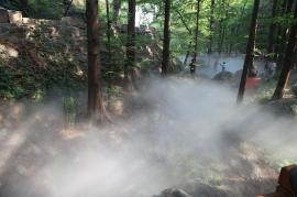 景观人造雾设备,园林喷雾造景工程