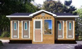 环保移动厕所可移动式公厕环保卫生间