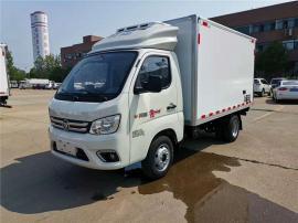 国六福田2.6米冷藏车报价