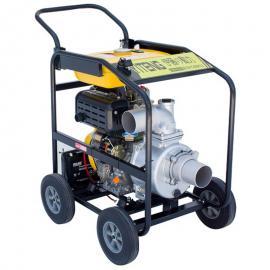 4寸移动式柴油机水泵YT40DPE-2