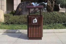 户外景区垃圾桶 -金属垃圾桶景区定做 -金属垃圾桶制造公司