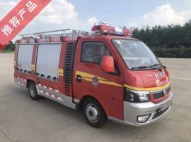 国六东风逸途小型细水雾消防车
