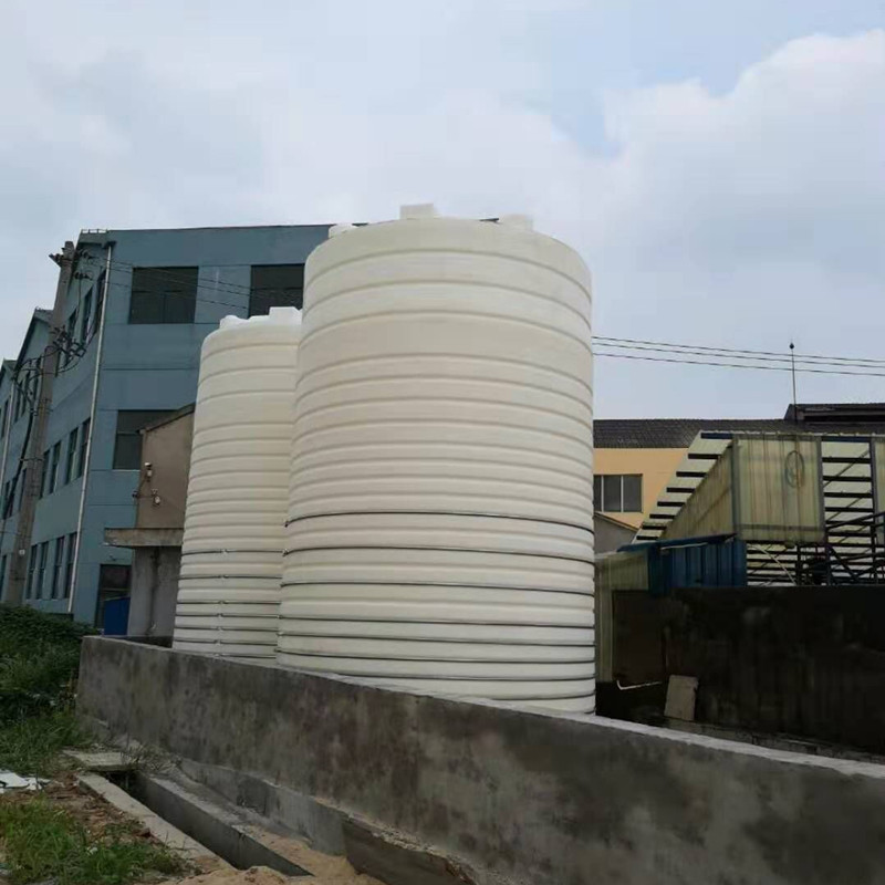 成 都50T防晒滚塑储罐盐酸储罐立式平底塑料储罐加厚