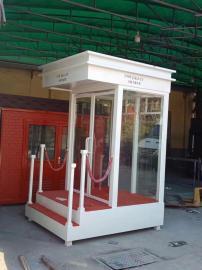 售楼部形象岗亭酒店执勤形象岗亭站台尺寸规格