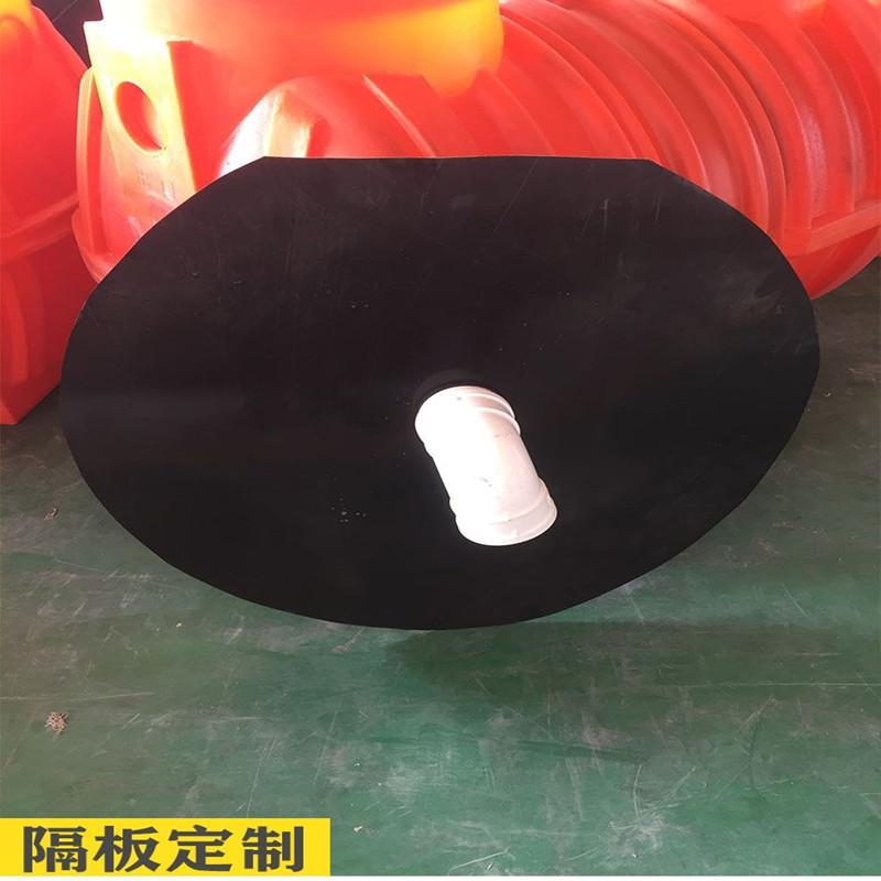 中 宁1.5立方三格化粪池新农村改造化粪池沉淀池滚塑一次成型