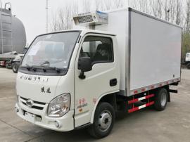 国六解放4.2米冷藏车