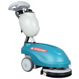 凯叻KL350手推式洗地机小型可折叠手推柄食堂餐厅清洁
