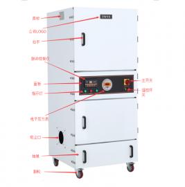 5.5KW的工业脉冲集尘机