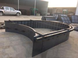钢制护坡拱型骨架模具 高品质 高效率 才是硬道理