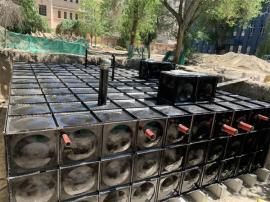 抗浮式地埋箱泵一体化泵站消防推荐给水设备