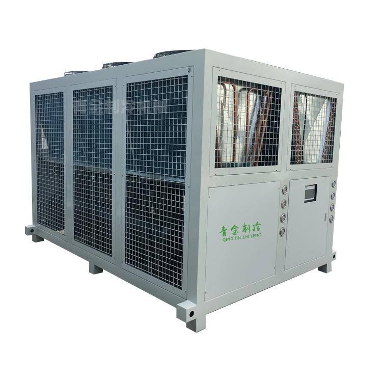 风冷式冷水机青金制冷品牌 40匹50匹风冷式冷水机
