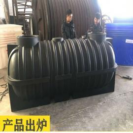 十 堰1.5立方滚塑化粪池农村改厕化粪池三格化粪池材质