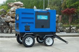 移动拖车400A柴油发电电焊机