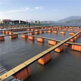 挖泥船塑料管道浮体 抽沙船夹管浮筒 吸沙管浮漂