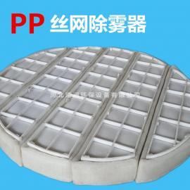 PP丝网除雾器 清澜PP丝网除雾器 SP型汽液过滤网