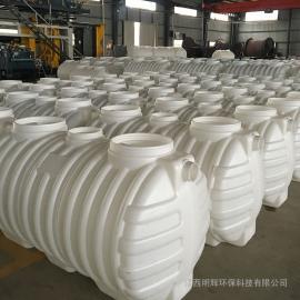 安装简捷方便吹塑成型2m3化粪池塑料PE化粪池