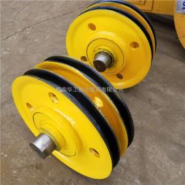 加筋加厚滑轮组滑轮片 港机卷扬机起重机定滑轮组 不锈钢滑轮组
