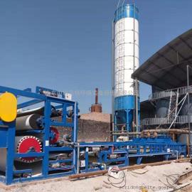 洗沙污泥、洗沙泥浆处理设备带式压滤机中科贝特现货环保达标