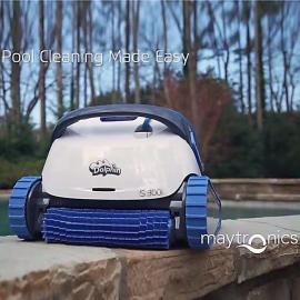 海豚 游泳池全自动吸污机泳池清洁机 水下机器人 s300i