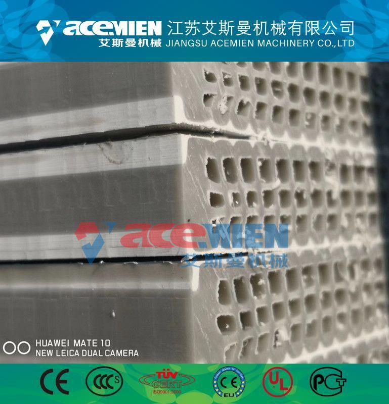 塑料中空建筑模板生产设备、pp中空建筑模板设备厂家