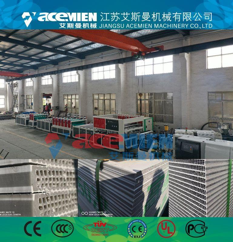 中空塑料建筑模板设备制造厂、塑料中空建筑模板生产机器