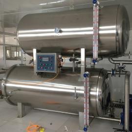 HZ-700双层水浴式杀菌锅 浩志加工生产 型号齐全