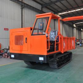 小推XT-6T 履带运输车 6吨工程运输履带车 随车吊 爬坡虎