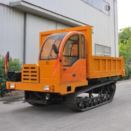 8吨工程翻斗车 自卸车 小推XT-8T履带运输车 爬坡虎